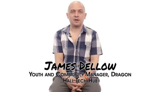 james dellow youth and community manager dragon hall
