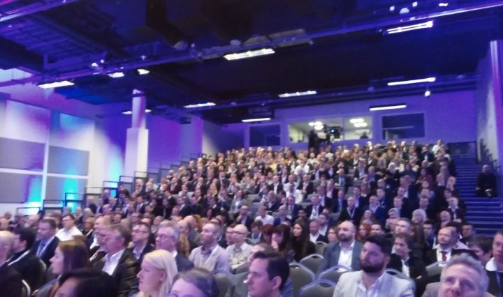 National Sales Conference 2017 crowd