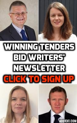 winning tenders bid writers newsletter