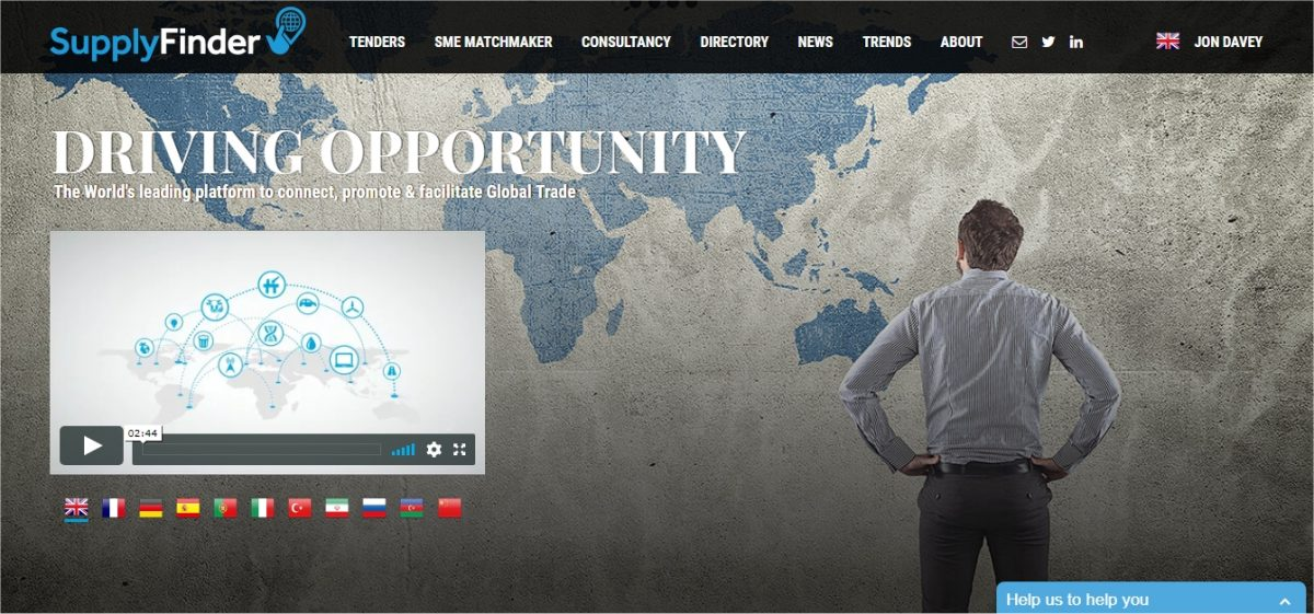 Looking for international business opportunities? Try SupplyFinder.com