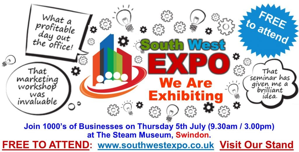 swindon business expo 5th july 2018 - stand 111
