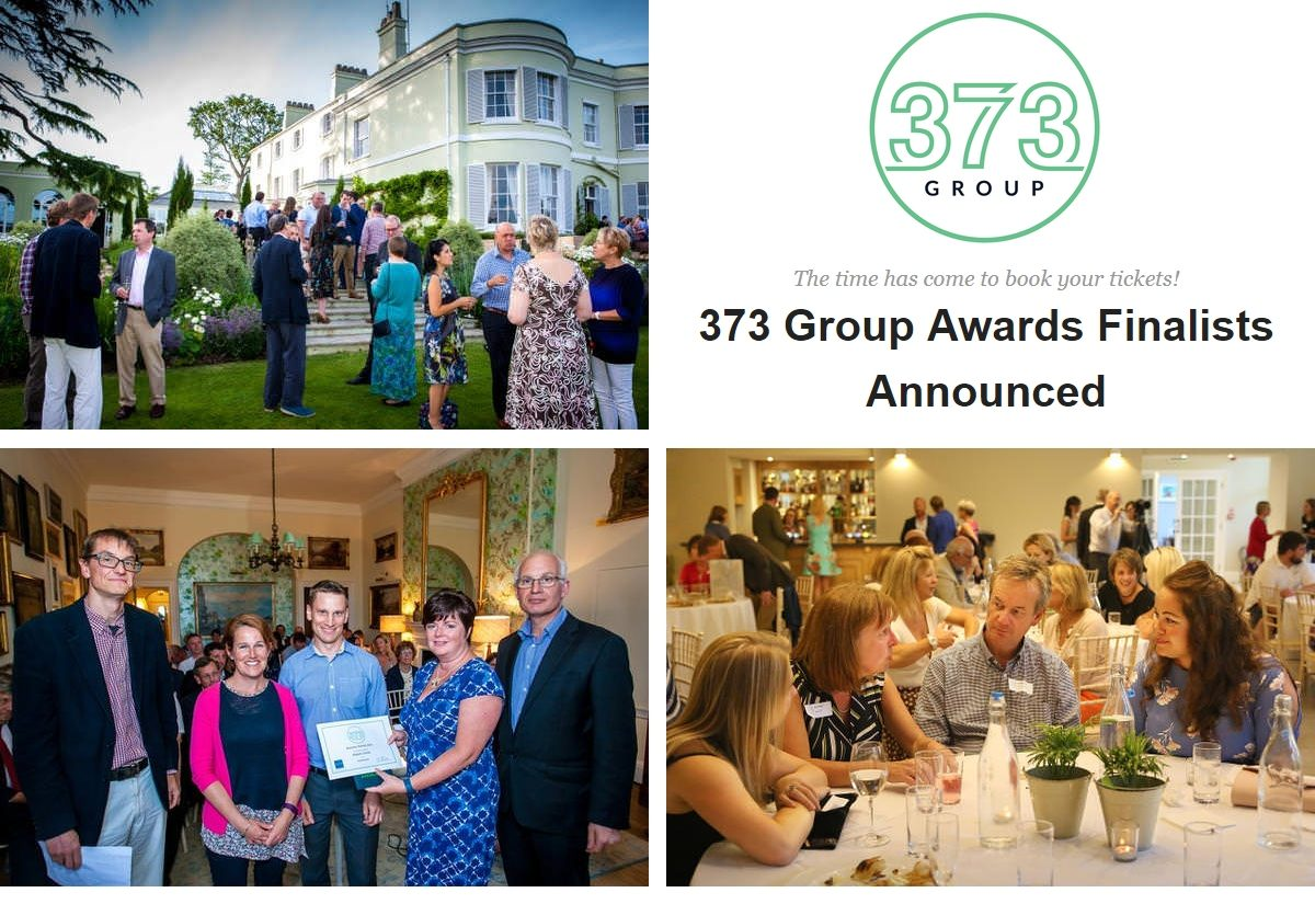 And the 373 Group Business Awards Finalists are…