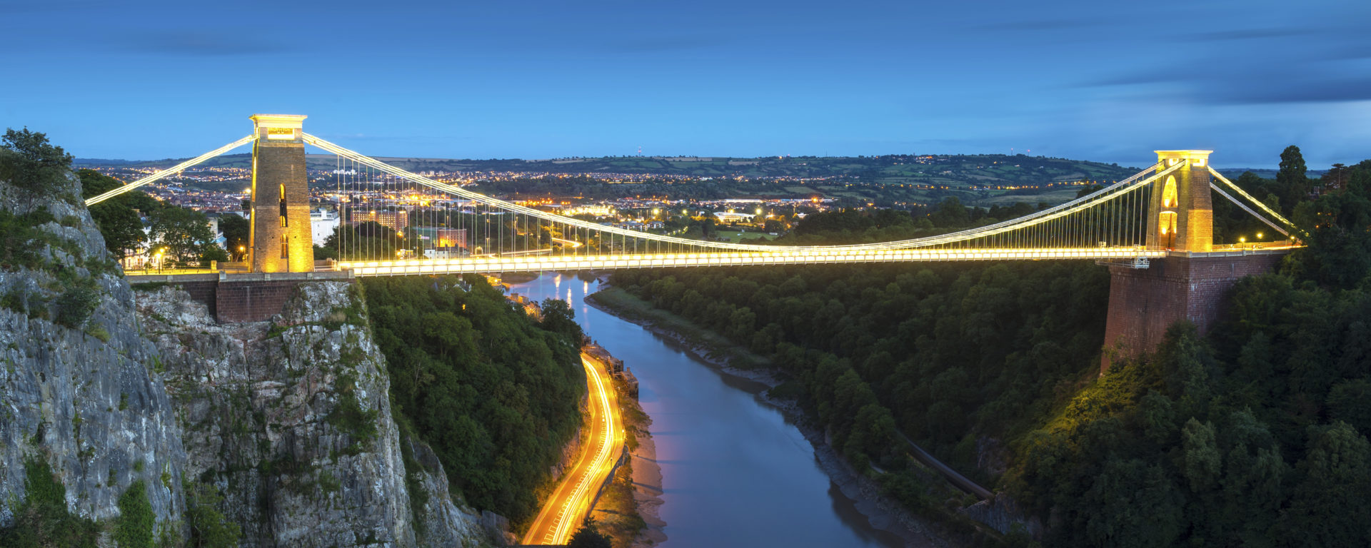 Clifton Suspension Bridge, River Avon, Bristol, England