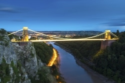 WT Clifton Suspension Bridge pic 250