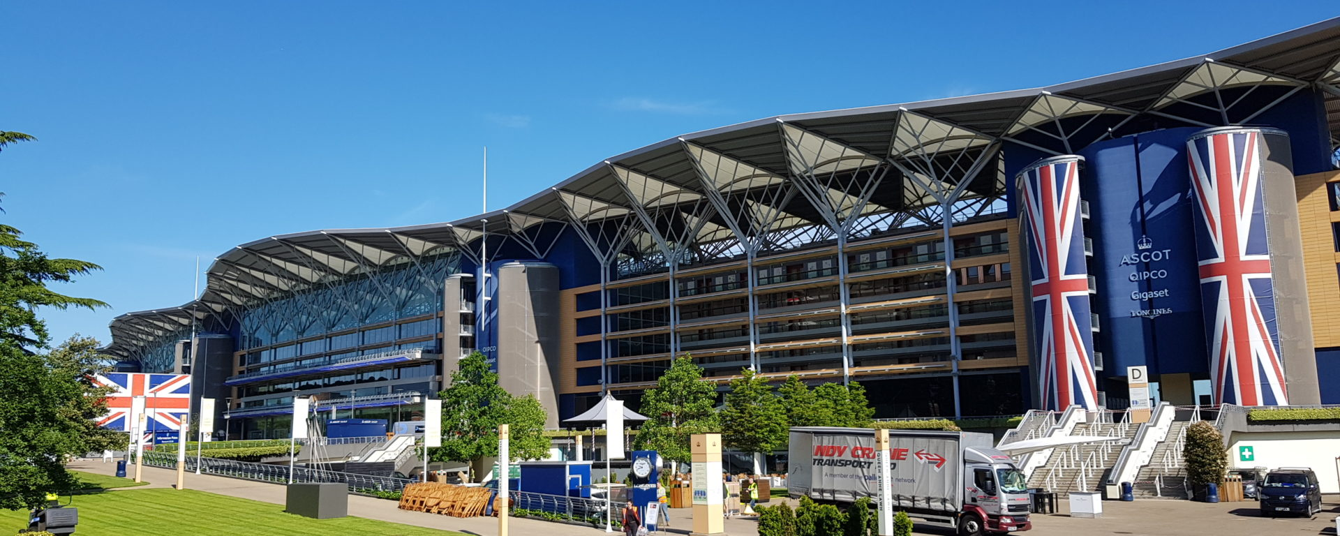 ascot racecourse great british expo