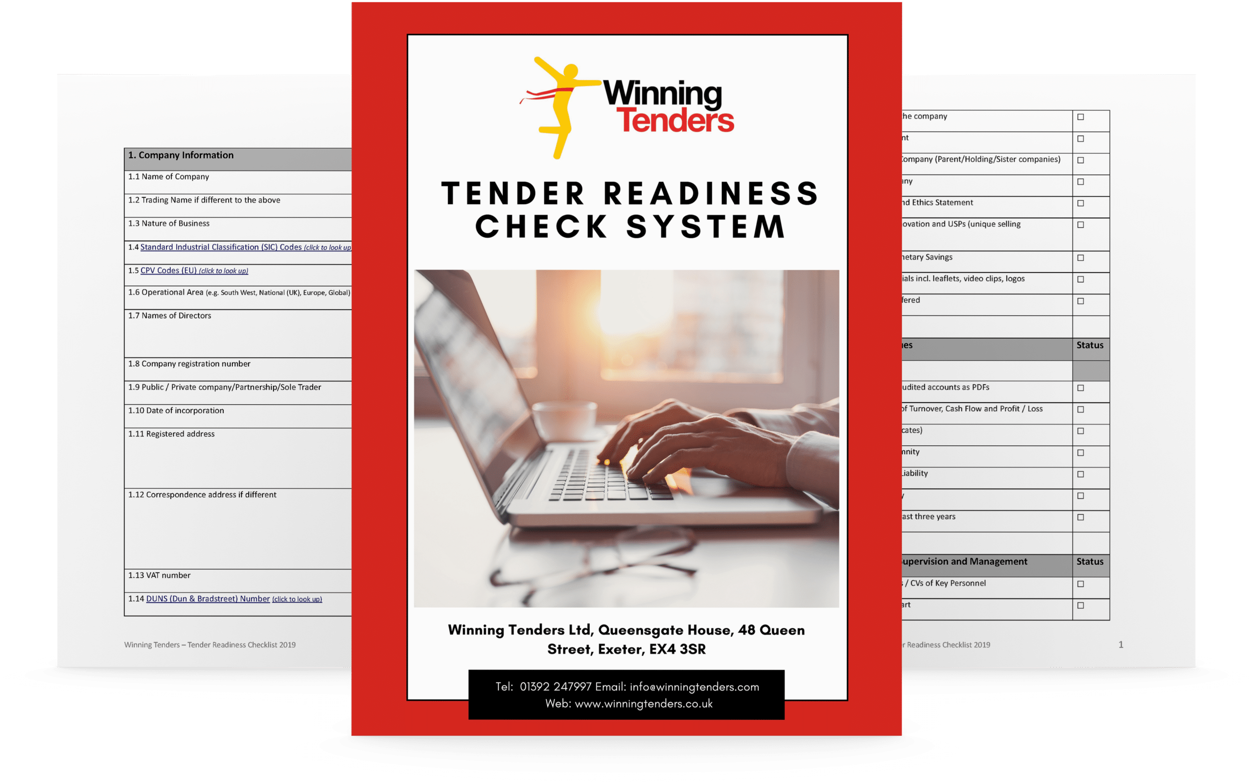 Download the Winning Tenders Tender Readiness Check starter pack