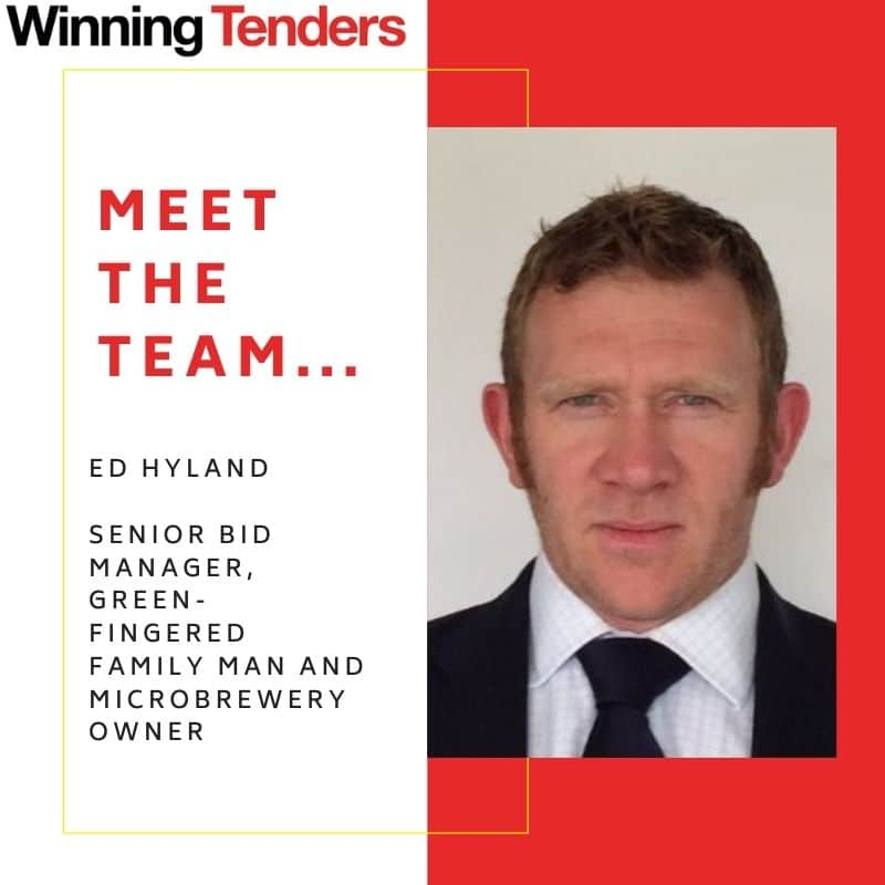 Team Profile: Introducing Ed Hyland, Senior Bid Manager